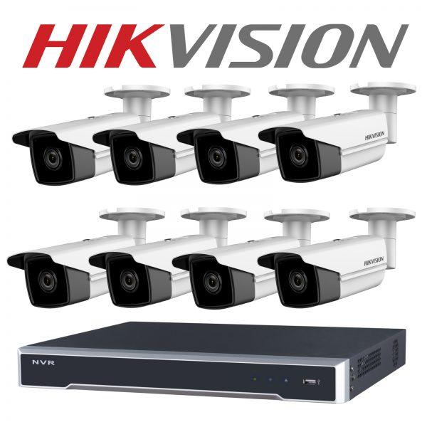 Hikvision camera kit 8ch