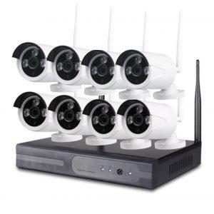 Wireless Wifi camera kits 8ch
