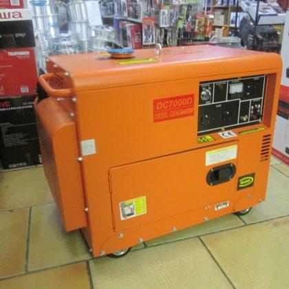 Ecco 7kva Diesel Generator Key Start Silent