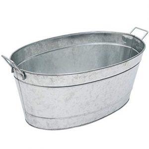 Galvanised Oval Baths 70l