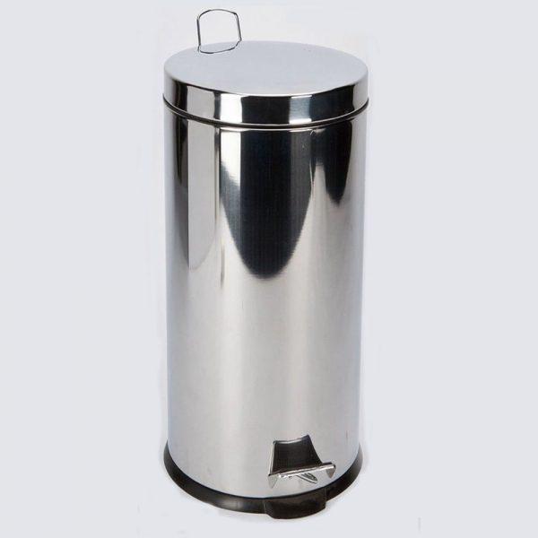 Stainless Steel Kitchen Bin 10lt
