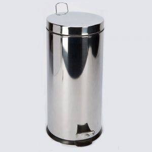 Stainless Steel Kitchen Bin 30lt